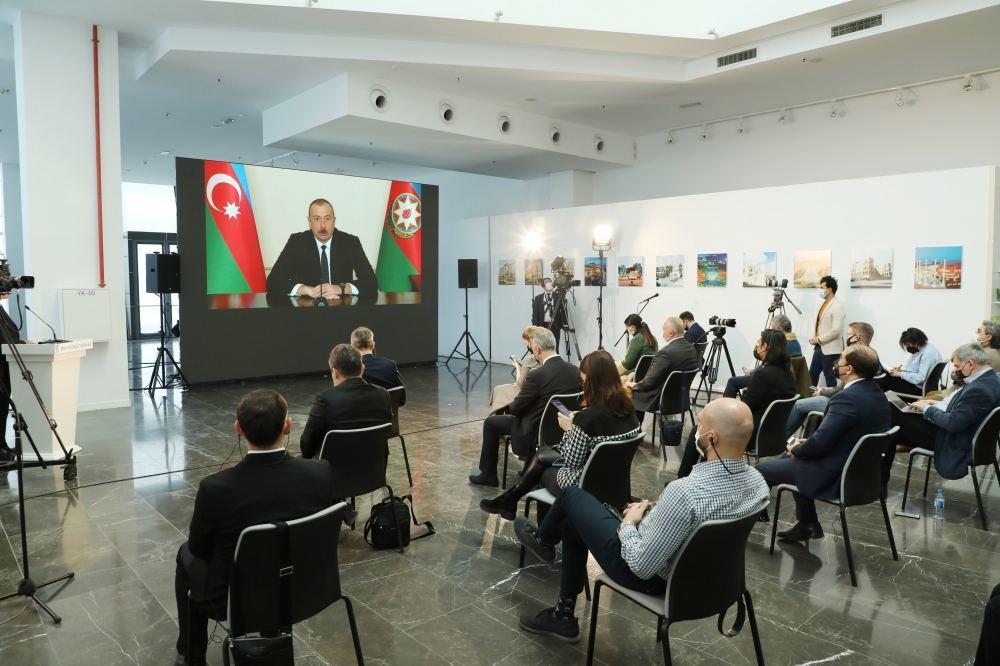 Azərbaycan Prezidenti: Monitorinq Mərkəzi post-müharibə dövrü üçün çox önəmli bir alət olaraq fəaliyyət göstərəcək