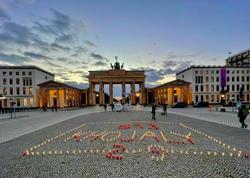 Berlində Xocalı anıldı - FOTO