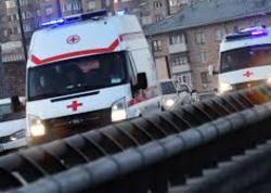 """Dağıstanda polis maşını qəzaya uğradı: <span class=""""color_red"""">2 ölü, 2 yaralı</span>"""