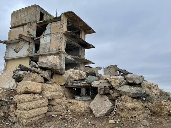 """""""Belə total dağıntıları hətta Suriyanın Homs şəhərində görməmişdim"""" - FOTO"""