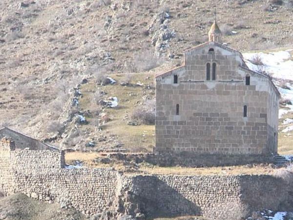 Laçın rayonunda qədim Alban-udi xristian məbədində ikinci xidmət keçirilib