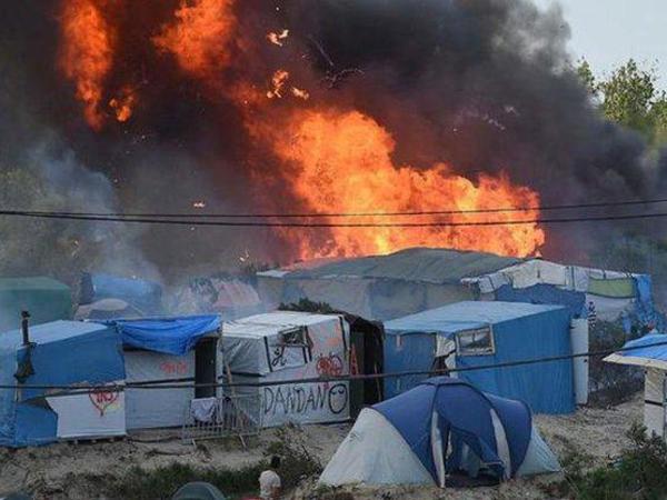Suriyada qaçqın düşərgəsində baş verən yanğında dörd nəfər öldü