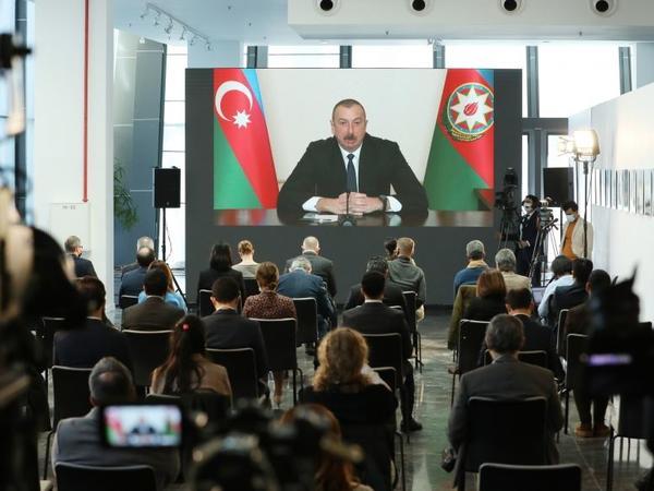 Prezident İlham Əliyevin mətbuat konfransı ispan mediasının diqqət mərkəzində