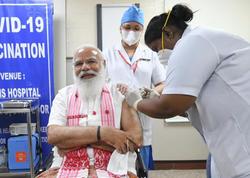 Hindistanın Baş naziri koronavirusa qarşı peyvənd olundu