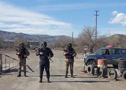 Qubadlıda polis postları - FOTO
