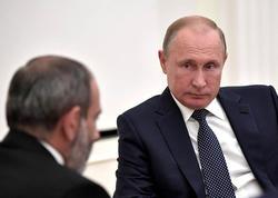 Paşinyan Putindən qorxdu, geri çəkildi