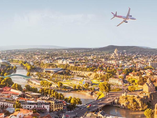 """""""Buta Airways"""" Tbilisiyə uçuşlar yerinə yetirməyə başlayır"""