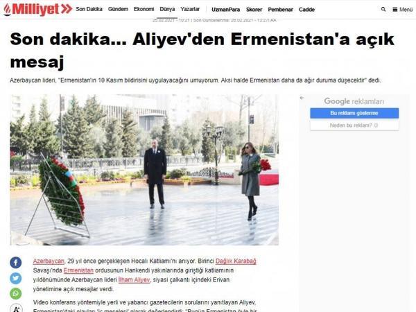 Türkiyə mediası: Prezident İlham Əliyev dörd saatdan artıq zamanda jurnalistlərin əlliyə yaxın sualını cavablandırıb - FOTO