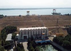 Ölkənin ikinci böyük su elektrik stansiyası təmir edilir - VİDEO - FOTO