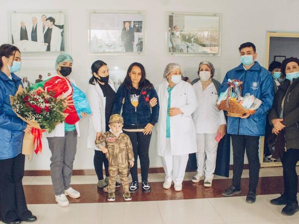 Şəhidin yeni doğulan övladının adına 5000 AZN-lik hesab açılacaq - FOTO