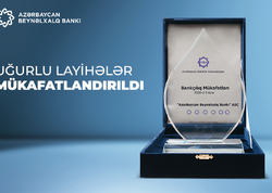 Azərbaycan Beynəlxalq Bankının layihələri mükafatlar qazandı