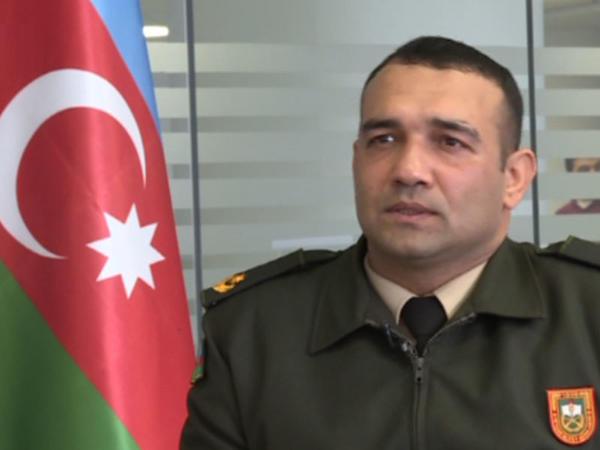 """Azərbaycan Ordusunun zabiti Şuşa döyüşlərindən danışıb - <span class=""""color_red"""">VİDEO</span>"""