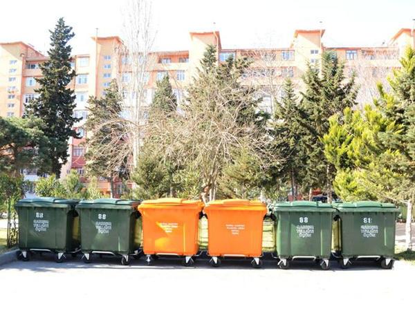 Bir gündə 12 ton çeşidlənmiş tullantı yığılaraq təhvil verilib - FOTO
