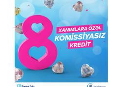 Bank of Baku-dan 8 Marta özəl hədiyyəli kampaniyalar!