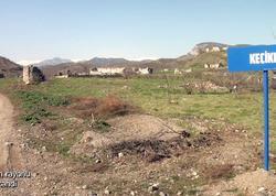 Ermənilərin viran etdiyi Keçikli kəndi - VİDEO