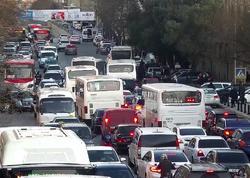 """Paytaxt yollarında sıxlıq var - <span class=""""color_red"""">Avtobuslar gecikir - FOTO</span>"""