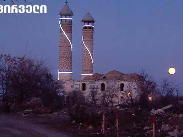 Gürcü telejurnalist: Ağdamda dini və mədəniyyət ocaqları məhv edilib - FOTO