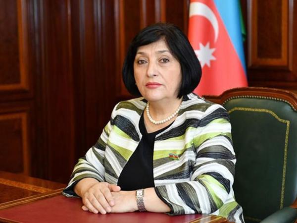 Sahibə Qafarova türkiyəli həmkarına başsağlığı verib