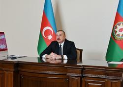 Prezident İlham Əliyev: Bu gün biz Avropa İttifaqı ilə bərabərhüquqlu saziş üzərində işləyirik və sazişin 90 faizi razılaşdırılıb