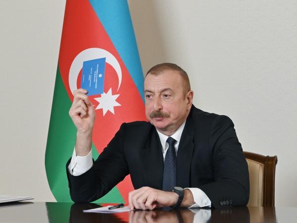 Prezident İlham Əliyev: Xalq Cəbhəsi-Müsavat bütün ölkələrlə münasibətləri yerə vurdu