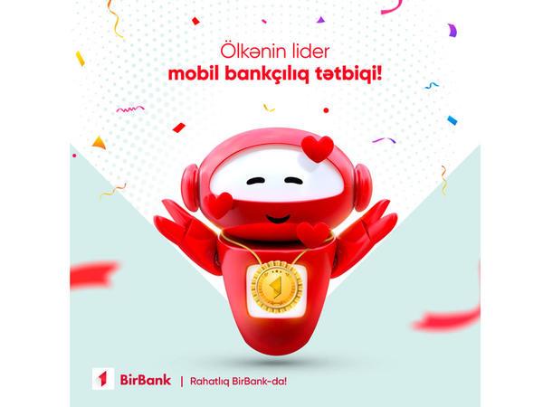 BirBank yenə də ölkənin lider mobil tətbiqi oldu!