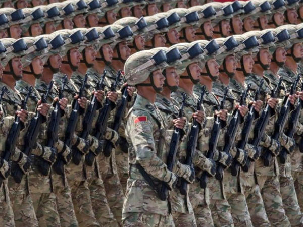 Çin müdafiə xərclərini 6,8 faiz artırır