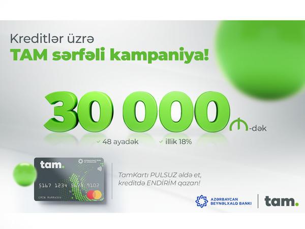 Azərbaycan Beynəlxalq Bankından sərfəli kredit kampaniyası