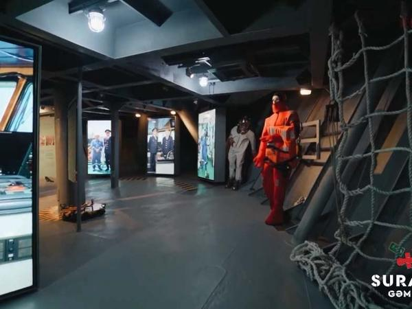 Prezidentin açılış etdiyi gəmi-muzeydən REPORTAJ