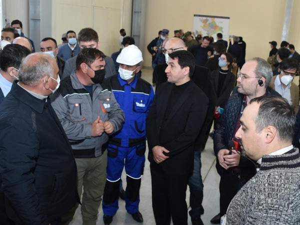 """Xarici diplomatlar və hərbi attaşelər Laçında """"Güləbird"""" Su Elektrik Stansiyası ilə tanış olublar - FOTO"""