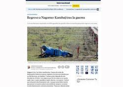 """""""La Vanguardia"""" qəzeti: Müharibədən sonra Qarabağa qayıdış"""