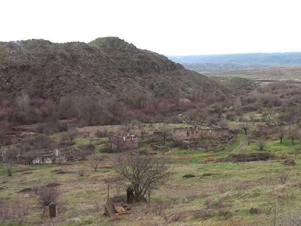 Zəngilan: düşmənin viran qoyduğu Qaragöz kəndi - VİDEO