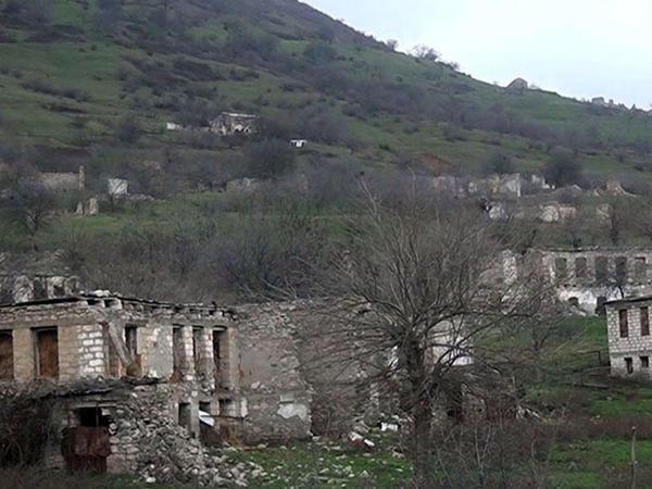 Dağıdılmış Gorazıllı kəndi - VİDEO