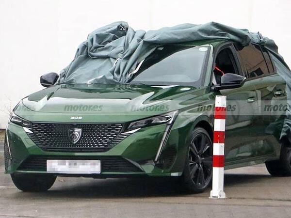 Yeni Peugeot 308 modelinin şəkilləri peyda olub - FOTO
