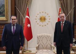 Ərdoğan Türk Şurasının Baş katibini qəbul etdi