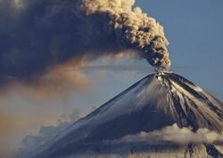 Yaponiyada vulkan püskürməsi baş verib