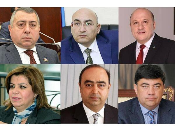 Azərbaycanda həbs edilən sabiq deputatlar
