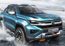 Növbəti nəsil Volkswagen Amarok pikapının yeni təsviri dərc edilib - FOTO