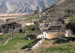 Vandalların yerlə yeksan etdiyi Turabad kəndi - VİDEO