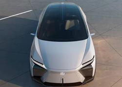 Lexus LF-Z Electrified - seriya elektrokarına doğru ikinci addım - FOTO