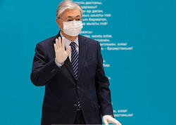 Qazaxıstan Prezidenti peyvənd etdirdi