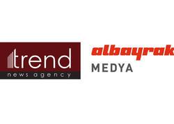 """Trend BİA və """"Albayrak Media Group"""" şirkətinin birgə Media Layihəsi işə salınır"""