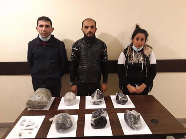 İrandan 55 kq narkotik keçirmək istədilər, tutuldular - FOTO