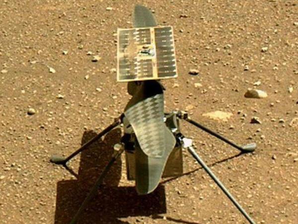 NASA helikopterinin Marsa ilk uçuşu barədə açıqlama yayıb