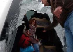 Türkiyədə turistləri daşıyan 2 avtobus aşdı - 1 ölü, 29 yaralı - FOTO