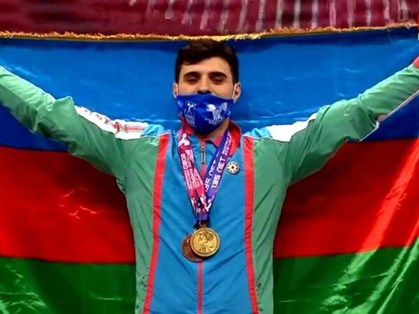 İdmançımız Avropa çempionatında qızıl medal qazandı - FOTO