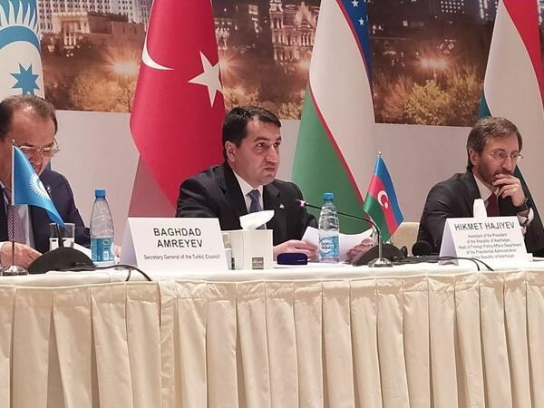 """""""Media haqqında"""" yeni qanun layihəsi medianın inkişafına imkan verəcək - Hikmət Hacıyev"""