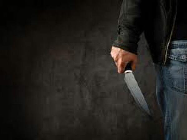 Qazax sakini həmkəndlisi tərəfindən bıçaqlanıb
