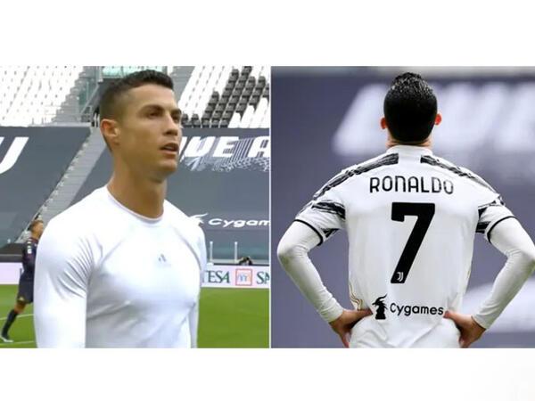 Ronaldo hirsini belə çıxdı