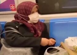 """Metroda lobya təmizləyən qadın necə məşhurlaşdı - <span class=""""color_red"""">VİDEO</span>"""