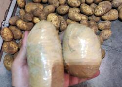Kartofun içində 213 kq heroin keçirmək istədilər, tutuldular - Əməliyyat VİDEOsu - FOTOlar